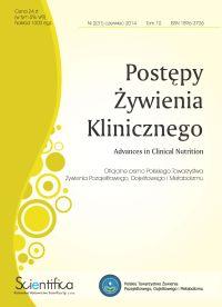 Postępy Żywienia Klinicznego numer 2.2014 czerwiec
